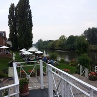 Photo taken at Diglis House Hotel by Ana D. on 9/4/2014