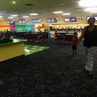 Photo taken at Lucky Lanes by Liz M. on 3/19/2016