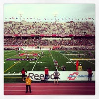 Photo taken at Percival Molson Memorial Stadium by Naomie P. on 6/13/2013