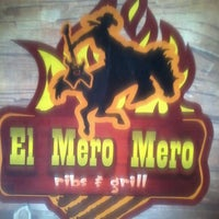 Photo taken at El Mero Mero Ribs & Grill by Carlos Eduardo M. on 6/20/2013