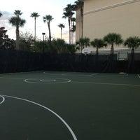Photo taken at Basketball Court - Sheraton Vistana Village by Moises R. on 1/12/2013