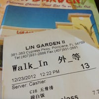 Photo taken at Lin Garden by Wholy C. on 12/23/2012