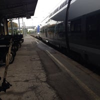 Photo taken at Gare SNCF d'Évian-les-Bains by Dimitri H. on 10/21/2013