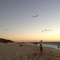 Photo taken at City Beach by Nan B. on 3/2/2013