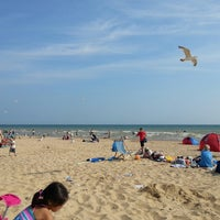 Photo taken at Camber Sands Beach by Kubair S. on 7/14/2013