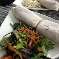 Photo taken at Mezza Restaurant by Jodi K. on 7/23/2013