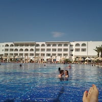 Photo taken at Marco Polo RIU Hotel Hammamet by Amira M. on 5/29/2013