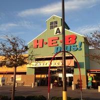 Photo taken at H-E-B plus! by Blue S. on 9/19/2013