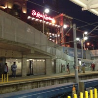 Photo taken at MetroLink - Stadium Station by Camille S. on 6/14/2013