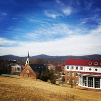 Photo taken at Hollins University by Allison R. on 3/12/2014