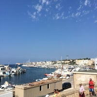 Photo taken at Porto di Leuca by Jc P. on 7/25/2015