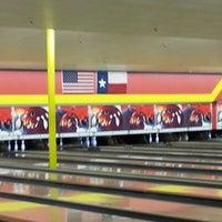 Photo taken at Bandera Bowling Center by Sherif O. on 8/11/2013