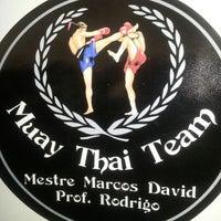 Photo taken at Muay Thai Aquacenter by Luis Fernando T. on 6/17/2013