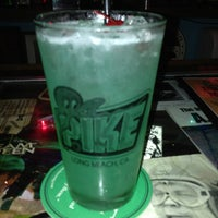 Photo taken at Pike Bar & Fish Grill by Danica S. on 1/26/2013