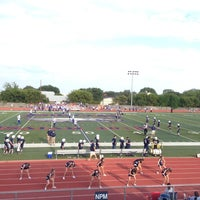 Photo taken at Prince Of Peace Eagle Stadium by David C. on 9/27/2013