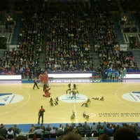 Photo taken at Alexander Gomelsky CSKA USH by Maria D. on 11/8/2012