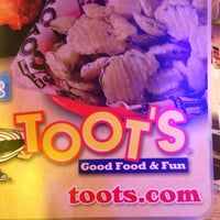 Photo taken at Toot's by Joshua C. on 4/12/2013