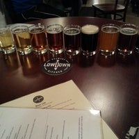 Photo taken at Lowdown Brewery+Kitchen by Michael B. on 2/17/2014
