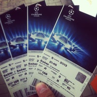 Photo taken at Ticket Office / Donbass Arena by Said M. on 10/11/2013