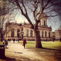 Photo taken at Birmingham Cathedral and Churchyard by Christopher M. on 4/6/2013