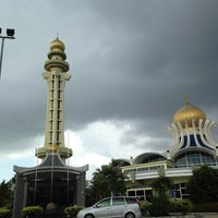 Photo taken at State Mosque (Masjid Negeri) by haliza m. on 5/25/2013