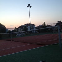 Photo taken at Тенис корт - Василико by Victor K. on 7/8/2013