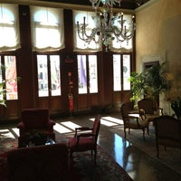 Photo taken at Ruzzini Palace by Руслан Ч. on 8/1/2013