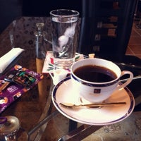 Photo taken at Cafe CAF by Junko O. on 11/21/2013