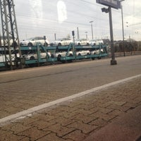 Photo taken at Aachen West Station by Eric C. on 11/24/2012