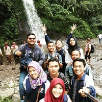Photo taken at @Air Terjun Guci by Igo A. on 1/30/2016
