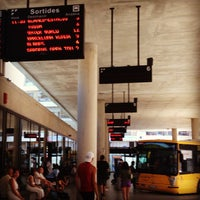Photo taken at Lloret de Mar Bus Station by Mary I. on 7/9/2013