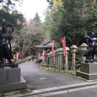Photo taken at 岩間寺 (岩間山 正法寺) by Jagar M. on 11/9/2015