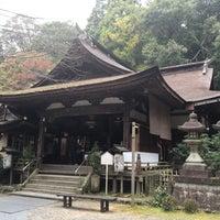 Photo taken at 岩間寺 (岩間山 正法寺) by Jagar M. on 11/7/2015