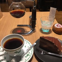 Photo taken at カフェ・ド・ペラゴロ CAFE de PERAGORO 堺北花田店 by Jagar M. on 1/12/2015