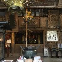 Photo taken at 岩間寺 (岩間山 正法寺) by Jagar M. on 11/11/2015