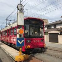 Photo taken at 上町線 北畠駅 by Jagar M. on 7/2/2017