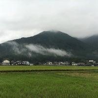 Photo taken at 揖斐川町 by Jagar M. on 10/8/2016