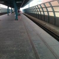 Photo taken at metro Ulitsa Gorchakova by 😼Serjio M. on 5/11/2013