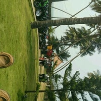 Photo taken at Padubidri Beach by Sanjay K. on 2/27/2017