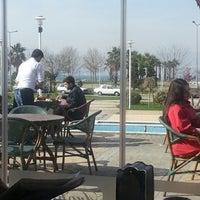 Photo taken at Tropikal Cafe & Nargile by Öztonga on 3/30/2013