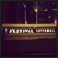 Photo taken at Festival Supermall by Dennis G. on 1/10/2013