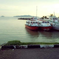 Photo taken at Anjung Batu Jetty - Melaka by Qaseeh E. on 12/6/2012