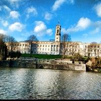 Снимок сделан в University of Nottingham пользователем Ahmet A. 12/27/2013
