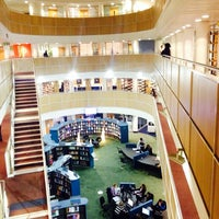 Photo taken at Boots Library by Ahmet A. on 12/19/2013