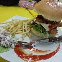Photo taken at O.M.G Burger Bakar by Alan B. on 4/4/2013