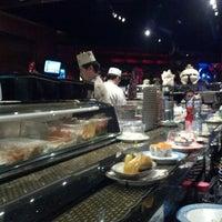 Photo taken at Kiku Japanese Steak & Sushi by Joshua W. on 12/14/2012