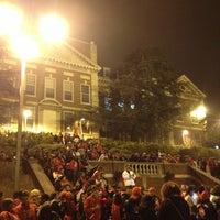 Photo taken at Howard University by Gia S. on 1/13/2013