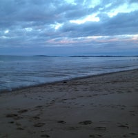 Photo taken at Ferry Beach State Park by David R. on 3/28/2013