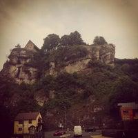 Photo taken at Pottenstein by Sana B. on 7/22/2014