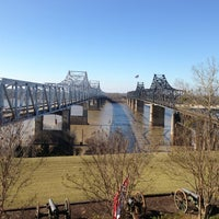 Photo taken at The Mighty Mississippi River by Amanda A. on 1/3/2013
